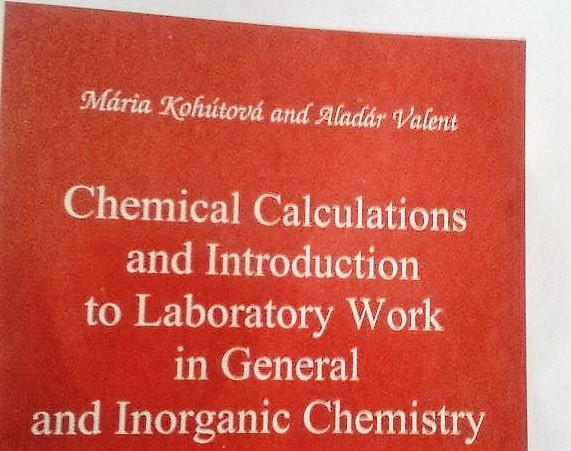 σπουδές φαρμακευτικής στη σλοβακία, σπουδές φαρμακευτικής στο εξωτερικό, σημειώσεις χημείας