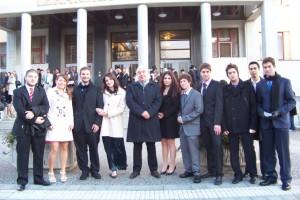 ορκωμοσία, σπουδές ιατρικής στο εξωτερικό, hradec kralove prague 2010