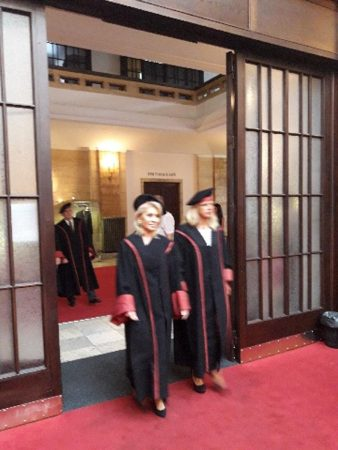ΟΡΚΟΜΩΣΙΑ COMENIUS UNIVERSITY- GRADUATION CEREMONY COMENIUS UNIVERSITY