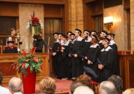 ΟΡΚΩΜΟΣΙΑ ΦΑΡΜΑΚΕΥΤΙΚΗ COMENIUS – GRADUATION CEREMONY PHARMACY COMENIUS