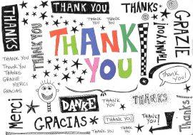 ΕΥΧΑΡΙΣΤΙΕΣ – MANY THANKS