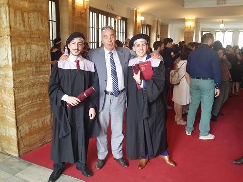 ΦΑΡΜΑΚΕΥΤΙΚΗ COMENIUS ΟΡΚΩΜΟΣΙΑ 2016 – PHARMACY COMENIUS GRADUATION CEREMONY 2016